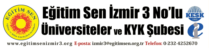 Eğitim Sen İzmir 3 No'lu Şube